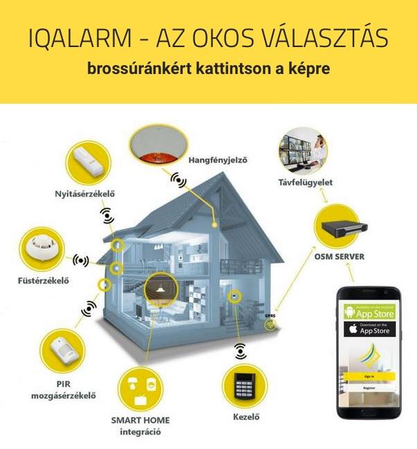 IQ Alarm bemutató brossúránkért kattintson a képre